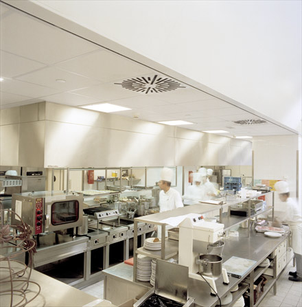 hygienic commercial kitchen panels