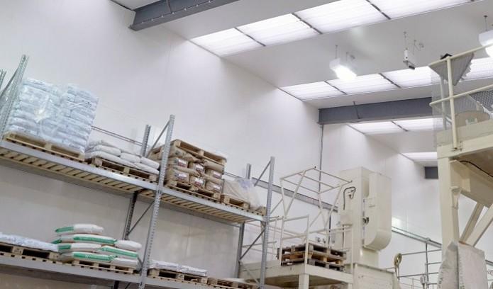 hygienic wall cladding project